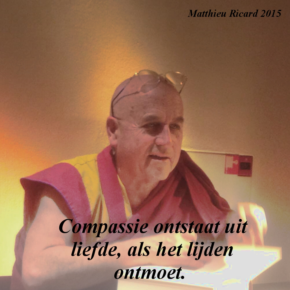 Matthieu Ricard – Compassie en Altruisme